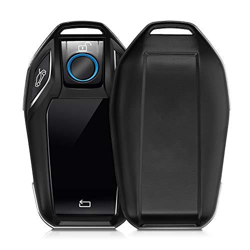 kwmobile Autoschlüssel Hülle kompatibel mit BMW Display Key Autoschlüssel - Hardcover Schutzhülle Schlüsselhülle Cover in Schwarz matt