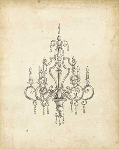 AFDRUKKEN-op-GEROLDE-CANVAS-Klassieke-Kroonluchter-III-Harper-Ethan-Decoratief-Afbeelding-gedruckt-op-canvas-100%-katoen-Opgerolde-canvas-print-Kunstdruk-o-Afmeting-70_X_56_cm