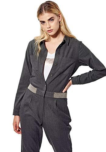 Kaporal - Combinaison Pantalon régular Femme - Lobby - Femme - L - Gris