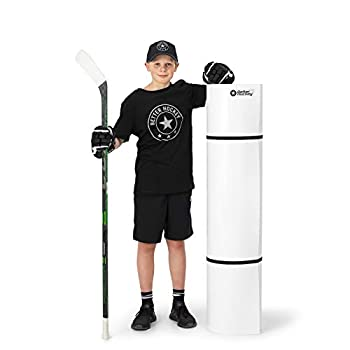 Better Hockey Extreme Roll-Up Shooting Pad XL - Size 4.5 Foot x 10 Foot - Premium Training Aid for One Timer Passing and Stickhandling - Simulates The Feel of Real Ice - Weather Proof Coating