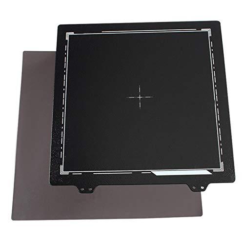 Hoja de acero, duradera, práctica, doble cara, hoja de acero PEI de 35 mm, adhesivo magnético en el lado B para ENDER-3 / 3S / 3Pro / 5