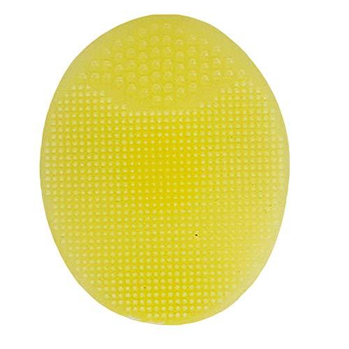 1 Pcs Nouveau Silicone Visage Tampon De Nettoyage Brosse Exfoliant Peau Épurateur Nettoyant Outil De Soins Du Visage, D