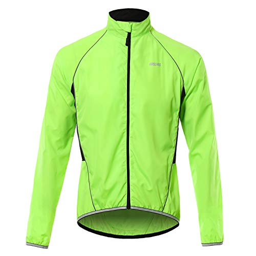 Lixada Fahrradjacke Herren Radjacke Reflektierende Atmungsaktiv Langarm Fahrrad Jersey Outdoor Sportbekleidung