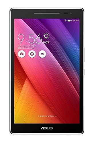 ASUS ZenPad 8 Dark Gray 8-inch Android Tablet [Z380M] 2MP Front / 5MP Rear PixelMaster Camera, WXGA TouchScreen, 16GB Onboard Storage, Quad-Core 1.3GHz Processor, 802.11a/b/g/n WiFi (Renewed)