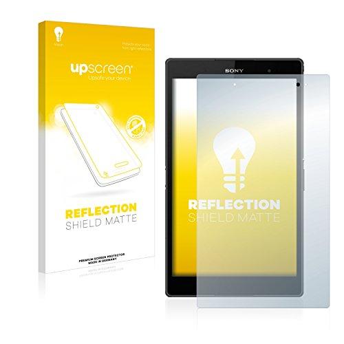 upscreen Entspiegelungs-Schutzfolie kompatibel mit Sony Xperia Z3 Tablet Compact SGP611, SGP612 – Anti-Reflex Bildschirmschutz-Folie Matt