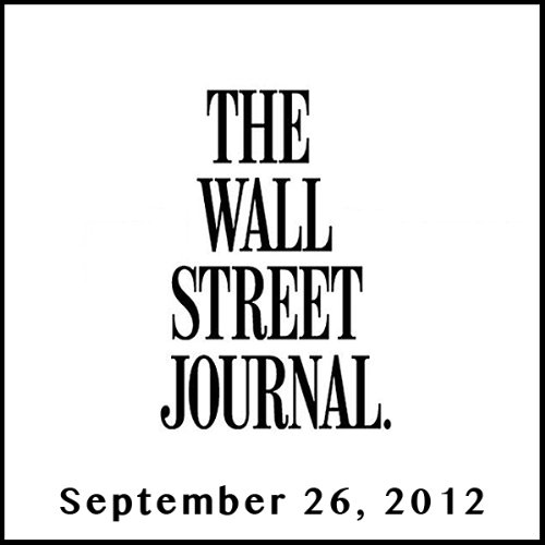 The Morning Read from The Wall Street Journal, September 26, 2012 copertina