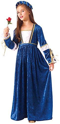Rubie's - Disfraz de Julieta para niñas, talla 8-10 años (67196-L)