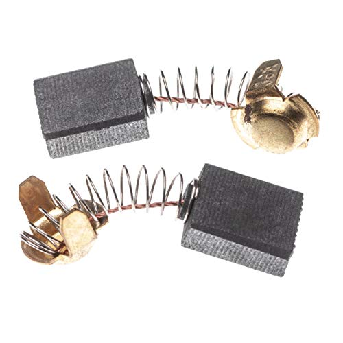 vhbw 2X Kohlebürste Motorkohle Schleifkohle 7 x 13 x 16,5mm Ersatz für Hitachi 999038, 999-038 für Elektrowerkzeug