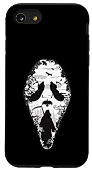 iPhone SE  2020  / 7 / 8 Scary grim reaper Halloween scream mask horror design Case