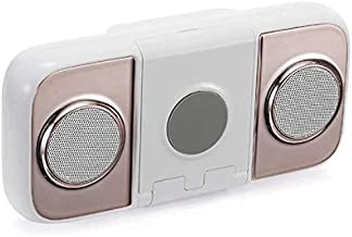 Speaker XQJJFJ Portable Bluetooth, Wireless Charger 10000mAh Power Bank USB Charging,Gray,Colour:Rose (Color : Champagne) photo