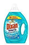 Dixan Detergente Gel Total Frescor + Formato Económico - 38 Lavados (1.9 L)