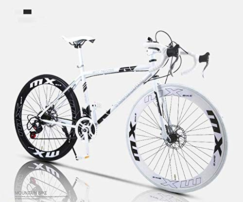 Sale!! HongLianRiven BMX Road Bicycle, 24-Speed 26 Inch Bikes, Double Disc Brake, High Carbon Steel ...
