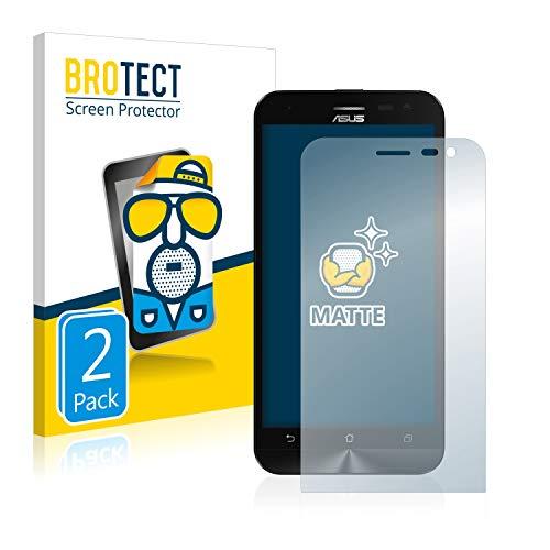 BROTECT 2X Entspiegelungs-Schutzfolie kompatibel mit Asus ZenFone 2 Laser ZE500KL Bildschirmschutz-Folie Matt, Anti-Reflex, Anti-Fingerprint