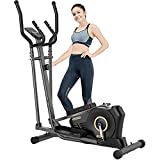 pooboo Elliptical Machine for Home Use 300 lbs, Magnetic...