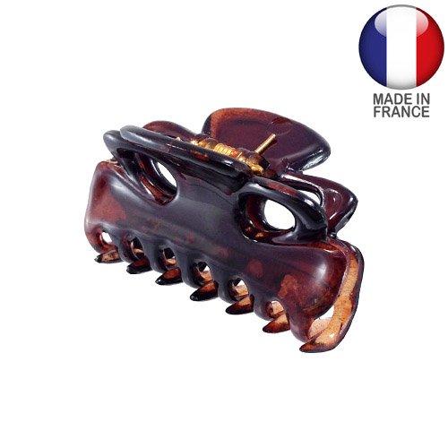 Accessoires cheveux Pinces – Pince pour cheveux français cm 4 Color Tortue