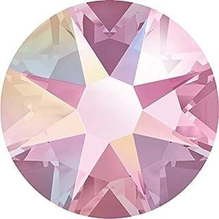 Swarovski 2000, 2058 & 2088 Nail Art Gems Light Rose AB | SS30 (6.4mm) - 40 Crystals | Small & Wholesale Packs