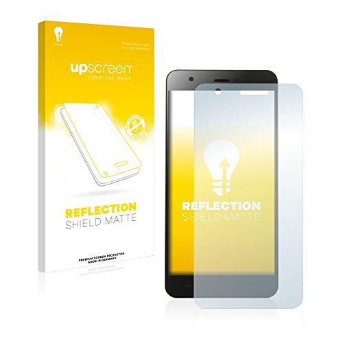 upscreen Entspiegelungs-Schutzfolie kompatibel mit Jiayu S3 Plus – Anti-Reflex Bildschirmschutz-Folie Matt