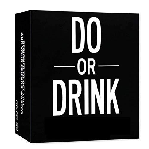 Hinder Do or Drink Kartenspiel, Trinkkartenspiel für Erwachsene, Pflicht oder Shots...