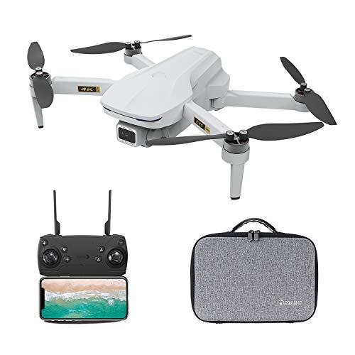 EACHINE EX5 Mini Drone con Camara 4k WiFi 5G para Adultos Niños 60 Minutos 5G WiFi FPV VR Foto Video Gesto Brushless Motor GPS Follow Me Ajuste/Rotación de Lente MV Drone (2 Baterías con Estuche)