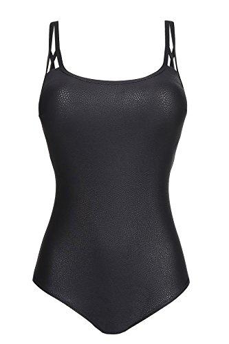 Prima Donna Swim, badpak niet gevoerd zonder beugel, Freedom 4004438 (80F, zwart)
