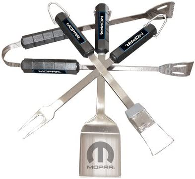 Mopar 4 Translated Nashville-Davidson Mall Piece BBQ Utensil Set