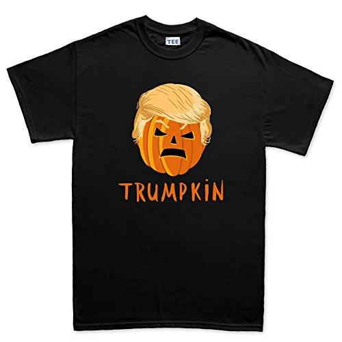 Mens Pumpkin Trump Halloween Funny T Shirt (Tee) XL Black