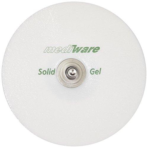 Mediware H5 0306 Solid Gel - Electrodos de espuma (30 unidades, 50 mm de diámetro)