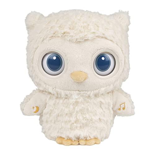 "GUND Baby Sleepy Eyes Owl Bedtime Soother Plush Owl Stuffed Animal Night Light & Sound Machine, 8"""