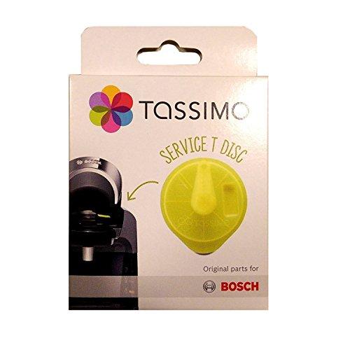 Service T-Disc / Reinigungsdisc für Tassimo T20, T40, T65, T85, Bosch Ersatzteil 621101