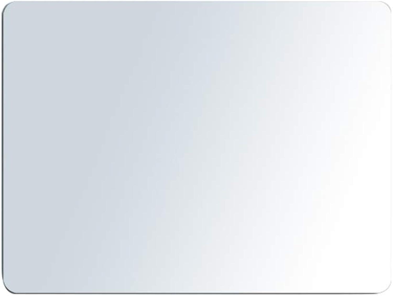 ZHBWJSH Wall-Mounted Bathroom Mirror Bathroom Vanity Mirror Vanity Mirror Mirror Wall Frameless Bathroom Mirror (Size   500  700mm)