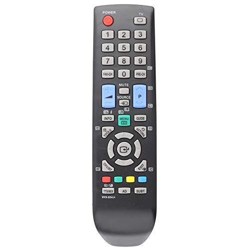 Reemplazo de Control Remoto de TV, Controlador de televisión, televisión Negra de conveniencia de plástico para Samsung BN59-00942A TV Smart TV