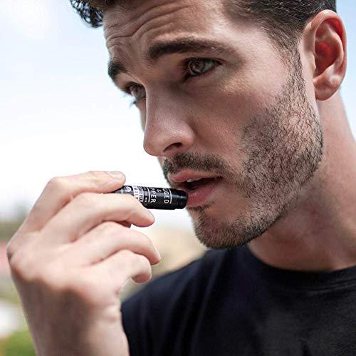RUGGED & DAPPER Organic Lip Balm Set for Men, Eucalyptus and Mint, 4 Pack