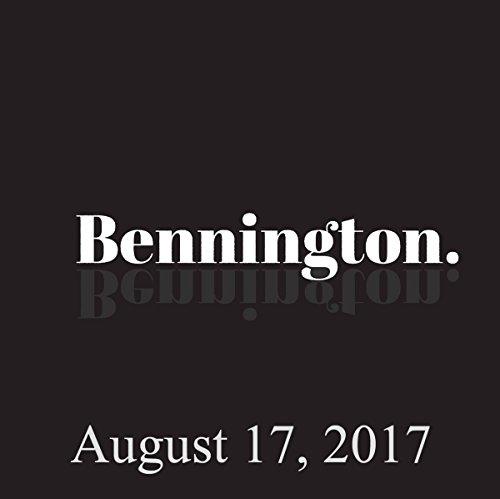 Bennington Archive, August 17, 2017 cover art