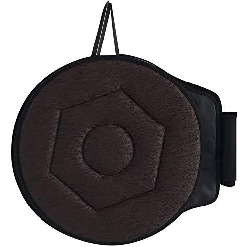 BAIXING Cuscino del Seggiolino Auto Disco di Rotazione A 360 ° per Bambini Anziani Donna Incinta Disabilità, Cuscino del Sedile Girevole Ideale...