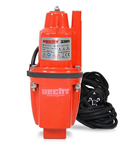 HECHT Elektro-Membran-Pumpe 3301 Tief-Brunnenpumpe Pumpe (1400 l/h, Förderhöhe 55m)
