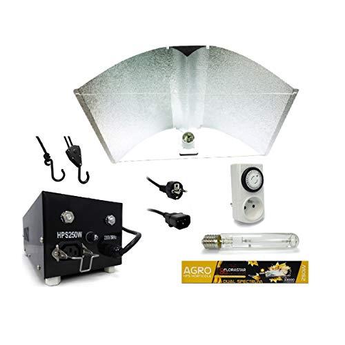 Kit lampe 250W PEARL PRO XL + FLORASTAR - Agro