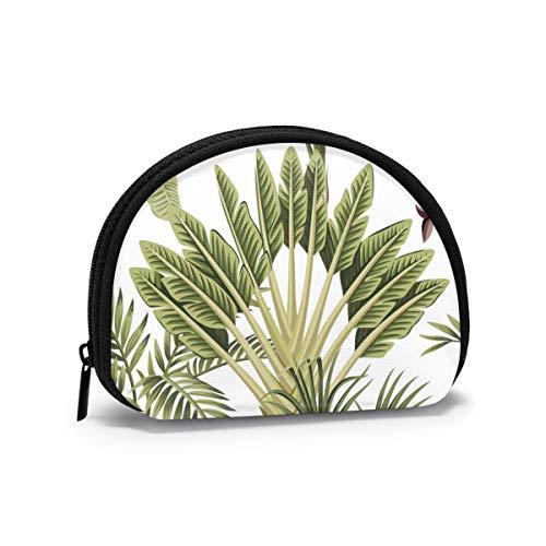 Tropical Vintage Palm Tree Banana Tree Mantel Individual Resistente al Calor Mujeres...