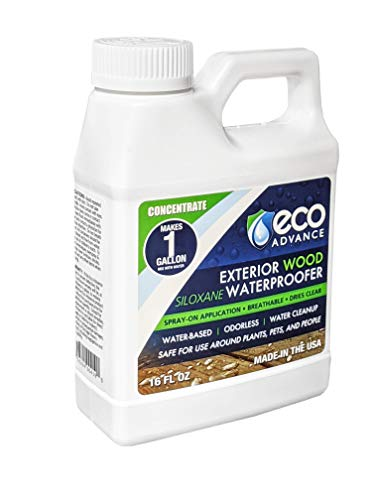 Eco Advance Wood Siloxane Waterproofer Concentrate - Makes 1 Gallon
