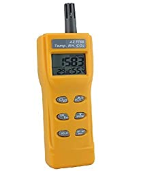 Smart Meter AZ-7755 CO2 Detector Humidity Dew Point Temperature Detection RH Temp CO2 Tester