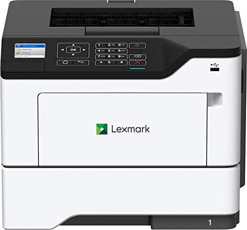 Lexmark B2650dw Monochrome Laser Printer, Duplex with Two Sided Printing, Wireless Network Capability (36SC471), Medium, White/Gray
