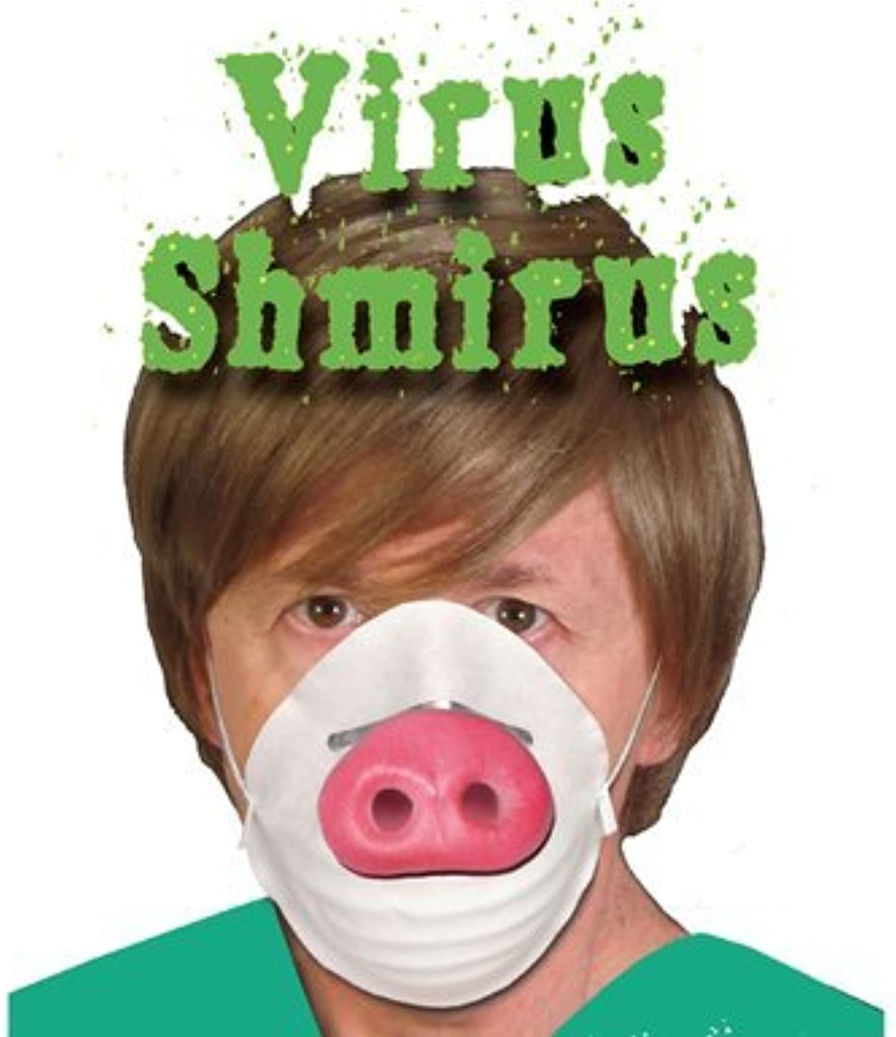 HMS Funny Swine Flu Mask Halloween Costume Accessory by HMS