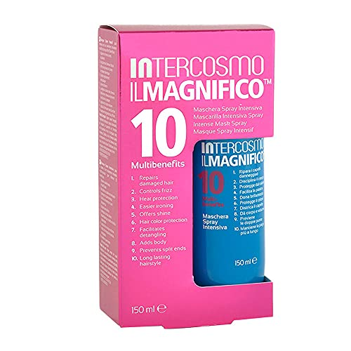 INTERCOSMO - Il Magnifico - Maschera Spray Intensiva capelli per capelli, 10 benefici, 150 ml
