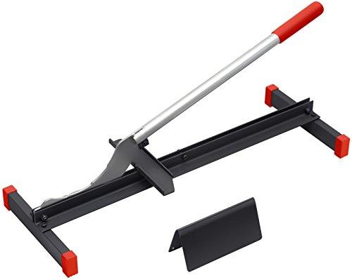 Meister Laminatschneider - 210 mm Schnittlänge - 12 mm Schnittstärke - Robuste Stahl-Klinge / Verlege Hilfe / Laminatschneider / Laminatkürzer / Laminatcutter / 4285050