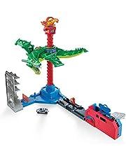 Hot Wheels Dragón Robótico, Pista de Coches de Juguete