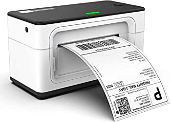 MUNBYN Label Printer 150mm/s 4x6 Desktop USB Thermal Shipping Label Printer for Shipping Packages Postage Home Small Business Compatible with Etsy Shopify,Ebay Amazon FedEx UPS