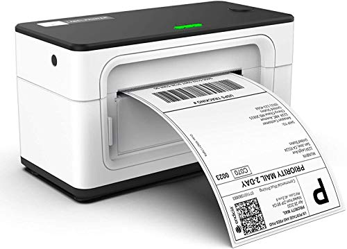 MUNBYN Label Printer, 150mm s 4x6 Desktop USB Thermal Shipping Label Printer for Shipping Packages Postage Home Small Business, Compatible with Etsy, Shopify,Ebay, Amazon, FedEx, UPS