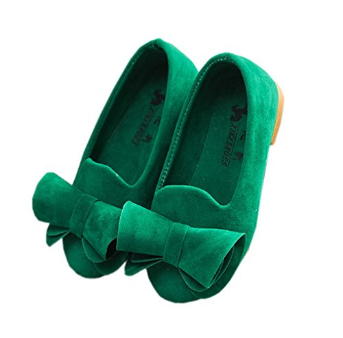 Top 10 best selling list for green flat shoes with bow