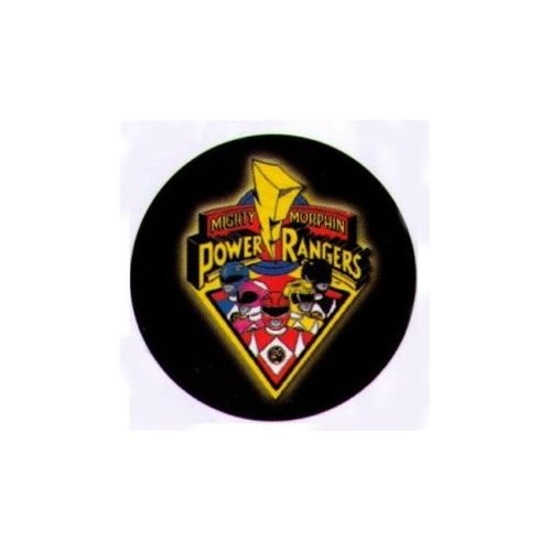 Mighty Morphin Power Rangers 3 Inch Button