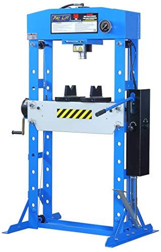 Pro-Lift-Werkzeuge Hydraulik-Presse 50 t manuell Fußpedal Werkstatt Industriepresse umformen Shop-Press verschweißt Rahmenpresse 50ton