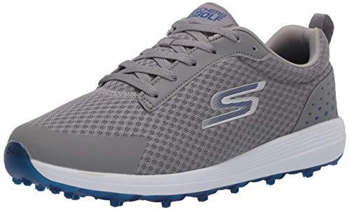 Skechers - Calzado de golf impermeable MAX para hombre, Color Gris, Talla...